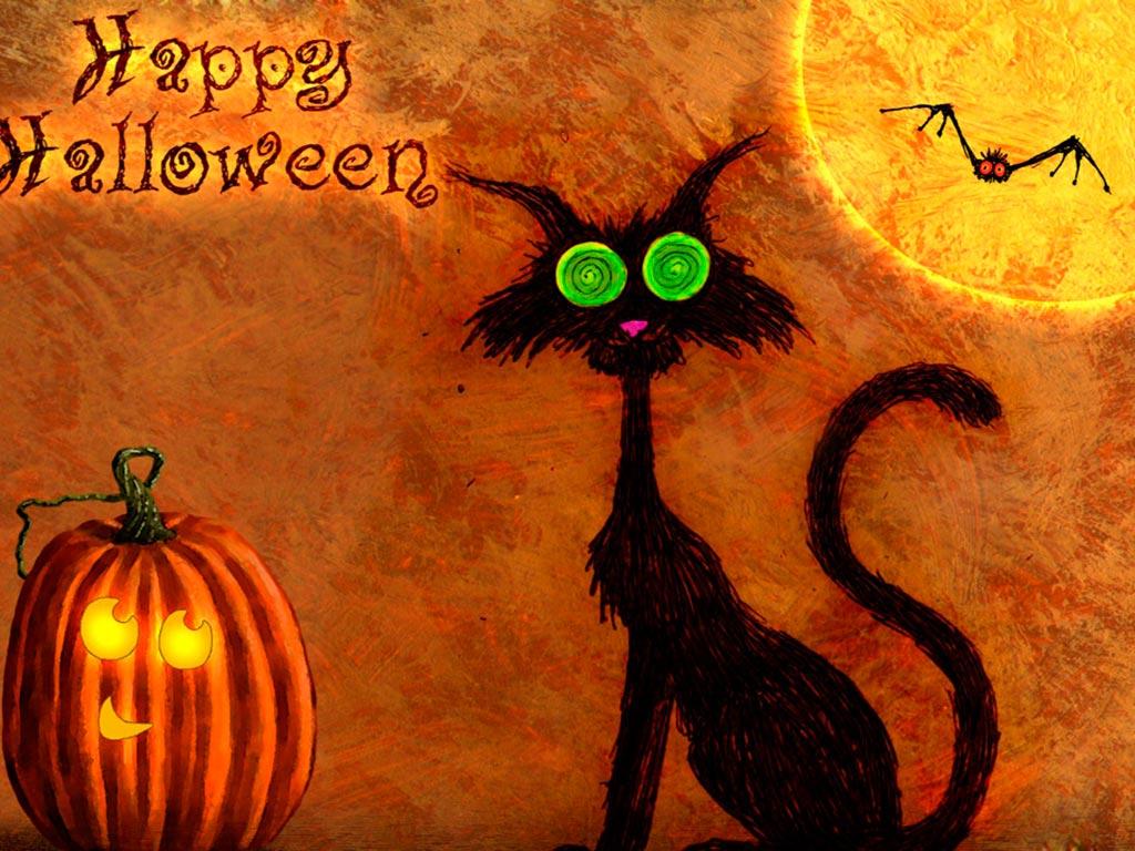 Летучие мыши на хеллоуин
