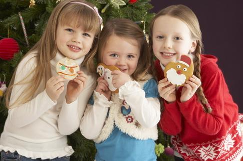 Новогодние угощения для детей